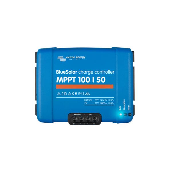 Victron Controlador de carga Solar BlueSolar MPPT 100/50