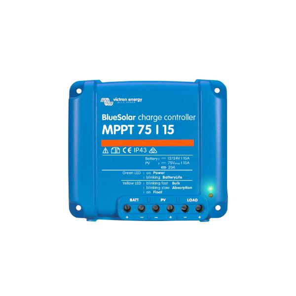 Victron Controlador de carga Solar BlueSolar MPPT 75/15