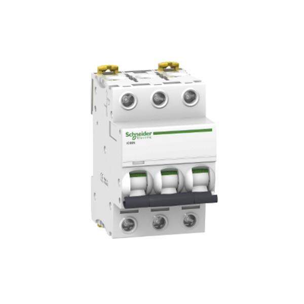 Schneider Electric Interruptor automático termomagnetico iC60N 3P 16A curva CSchneider Electric