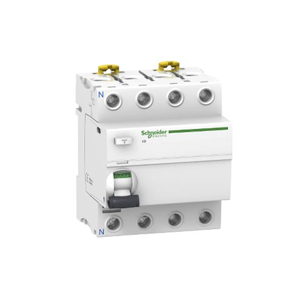 Schneider Electric Interruptor diferencial iID 4P 25A 30mA clase AC
