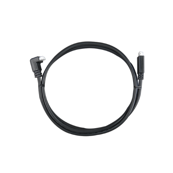 Victron VE.Direct Cable 5m (one side Right Angle Conn)
