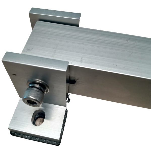 Base ajustable 30° - 60 º para techo plano (incluye frontal y trasera) (2)