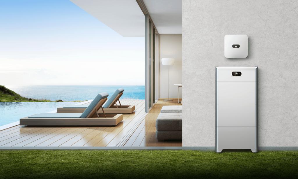 Energía Solar para Casas de Huawei